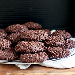 Chocolate Sprinkle Cookies