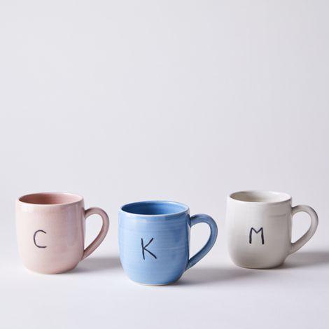 Handmade Monogram Mug