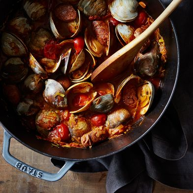 Smoky Clams for Two