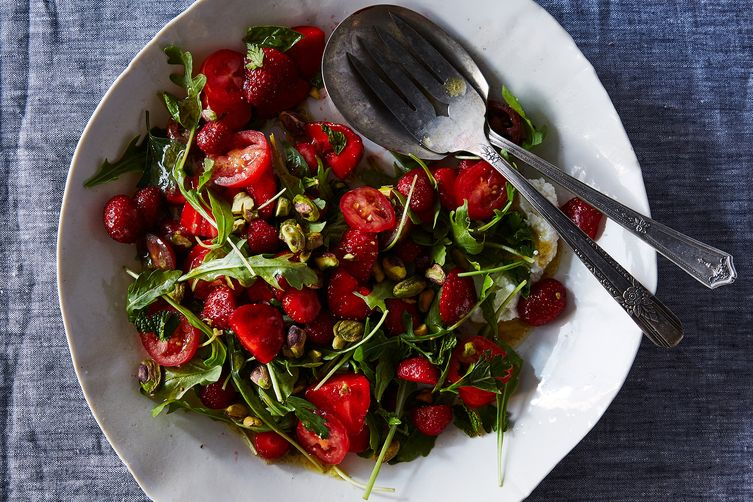 Strawberry and Ricotta Salad