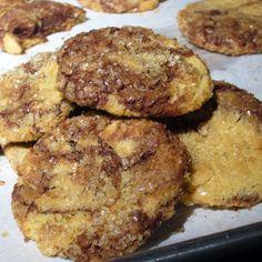 Chewy Marble Sugar Cookies