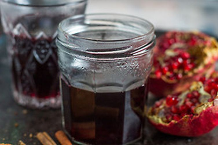 Honey-Pomegranate Mulled Wine Recipe on Food52