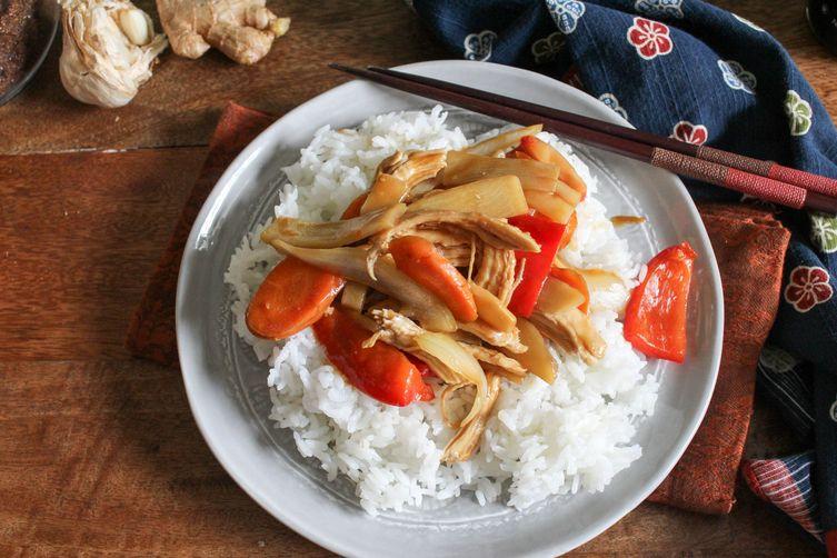 Quick Sesame Ginger Stir Fry