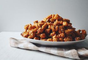 "Struffoli ""Christmas Fritters"" are Fried, Honey-Glazed & Sprinkle Coated"