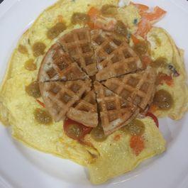 Waffled Eggs
