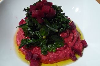 1f1bddc2 a43f 4de8 aa7c f3d43b9282f5  beet puree with greens 101409