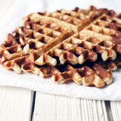 Almond Paste Waffles
