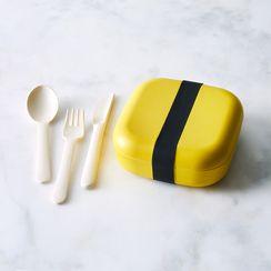 Bento Lunch Box & Cutlery Set