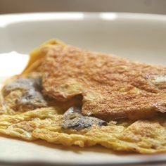 Oyster Mushroom Omelette