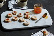 Asiago and Walnut Shortbread Cookies