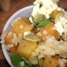 Favorite Fall Orzo Salad