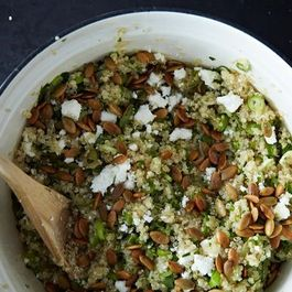 Lemon Herb Quinoa with Hemp Seeds, Spring Peas, and Basil ...
