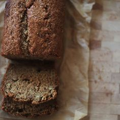 Dark Brown Sugar Banana Bread