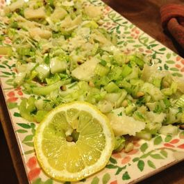 Date night celery and fennel salad