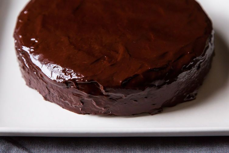 Chocolate Cake: Chocolate-Orange Birthday Cake