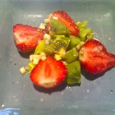 Strawberry Kiwi Salad