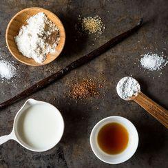 Vanilla Rooibos Tea Cookies