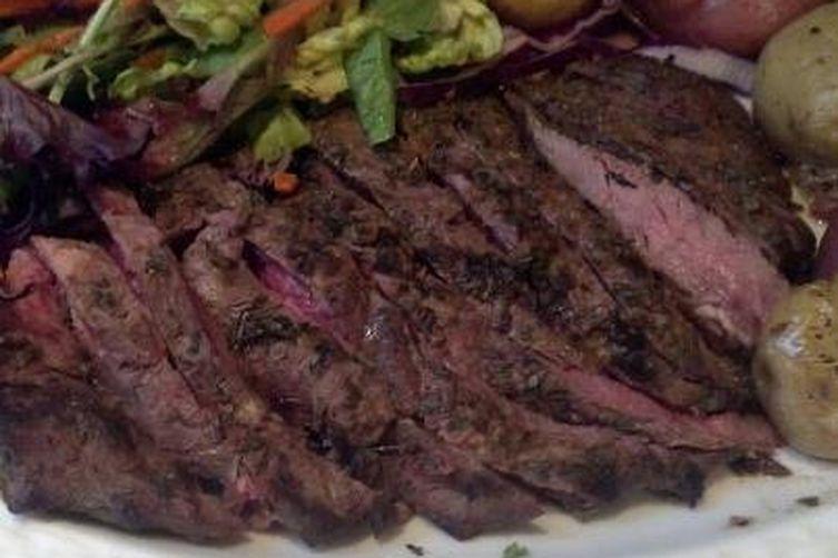 Garlic & Herb Marinated Flat Iron Steak