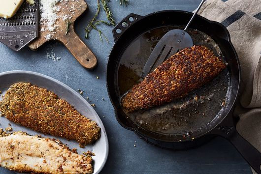 A Walnut-Crusted Trout to Take the Dinner Party Spotlight