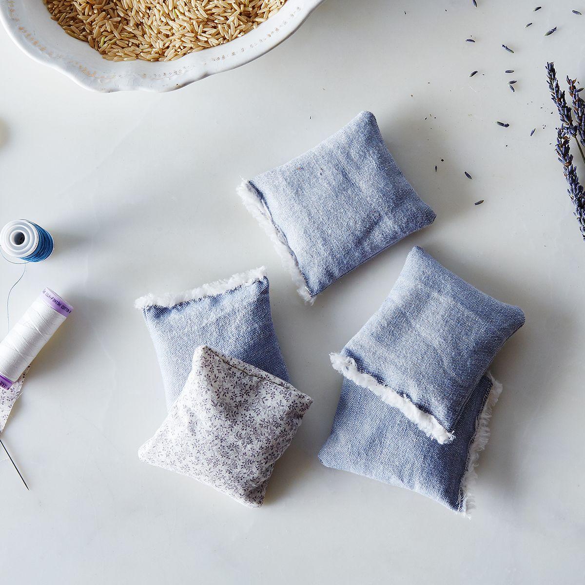 DIY Lavender Sachets for a Sock Drawer