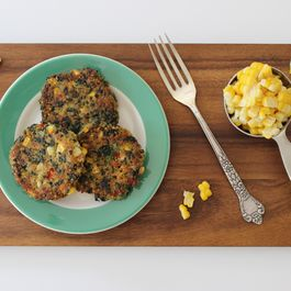 Quinoa and Corn Patties