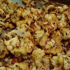 Cauliflower Roast with a Nod to Ina