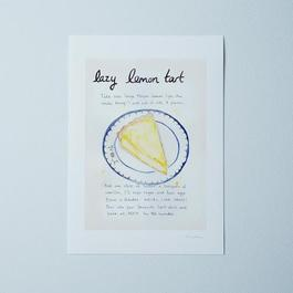 Food52's Lazy Mary's Lemon Tart Recipe Print