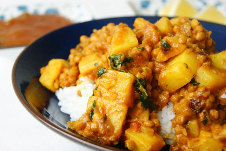 Indian red lentil and potato dhal recipe on food52 indian red lentil and potato dhal forumfinder Image collections
