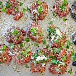 smashed potatoes with pimenton & manchego cheese