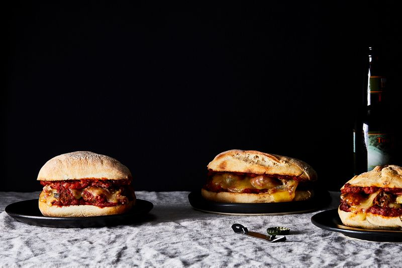 Anytime Meatball Sandwiches