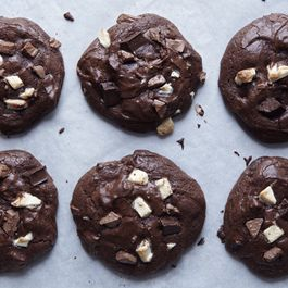 chocolate cookies by amy