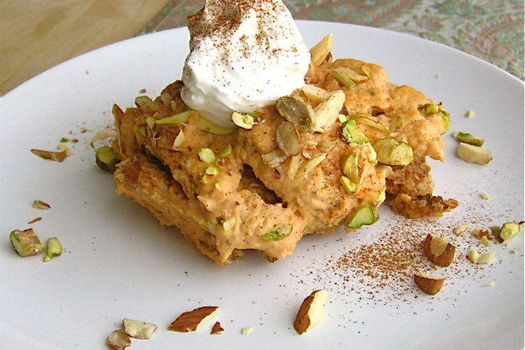 Shahi Tukray with Pumpkin: A Royal Bread Pudding